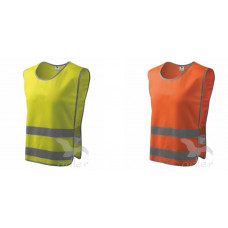 Kamizelka odblaskowa Classic Safety Vest na rzep