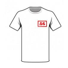 Haft A6 na odzieży