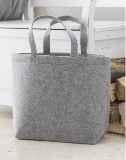 Duża zakupowa torba z filcu