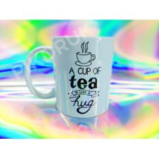 KUBEK A CUP OF TEA IS LIKE A HUG