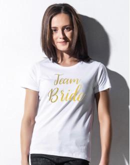 Koszulka T-SHIRT na wieczór panieński TEAM BRIDE