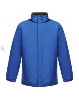 Damska wodoodporna kurtka Aledo Oxford blue/Seal Grey