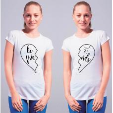 BEST FRIENDS zestaw 2x koszulka damska