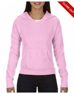 Damska bluza z kapturem Blossom neon