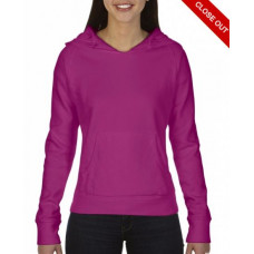 Damska bluza z kapturem Raspberry neon