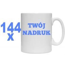 144x KUBEK Z TWOIM NADRUKIEM