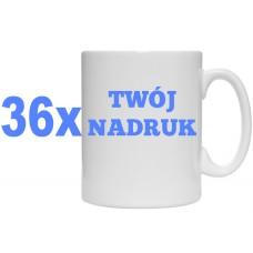 36x KUBEK Z TWOIM NADRUKIEM