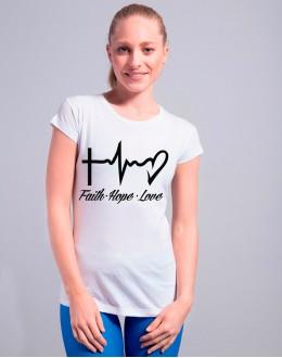 T-shirt FAITH HOPE LOVE