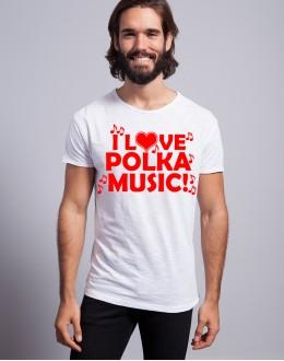 T-shirt I LOVE POLKA