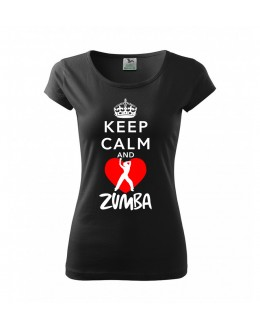 T-shirt KEEP CALM AND ZUMBA