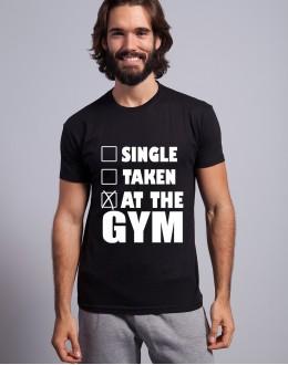 T-shirt SINGLE TAKEN AT THE GYM