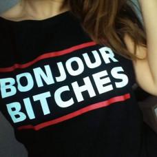 Koszulka BONJOUR BITCHES