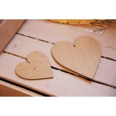 Drewniane serce z Twoimi życzeniami!