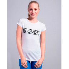 Blogerska koszulka BLONDE