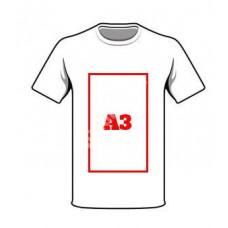 Nadruk do A3 na odzieży full kolor