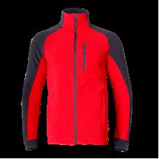 Bluza polarowa czerwono-szara Lahti Pro LPBP1